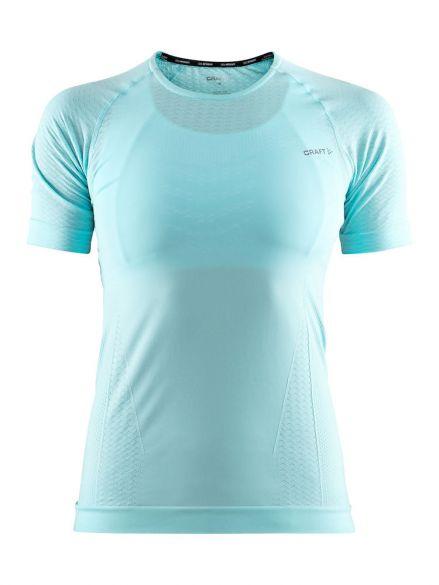 Craft cool intensity korte mouw ondershirt blauw/heal dames  1904919-1619