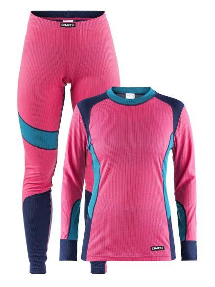 Craft Active onderkleding voordeel set roze/blauw dames  1905331-720658