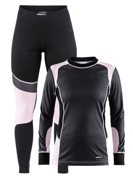Craft Active onderkleding voordeel set grijs/roze dames  1905331-975705