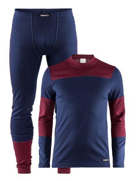 Craft Active onderkleding voordeel set blauw/rood heren  1905332-391497