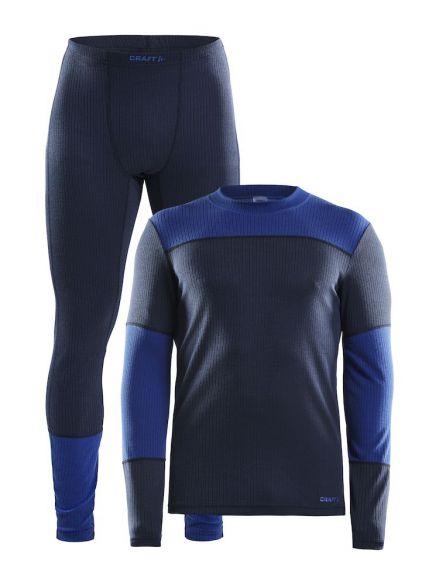 Craft Active onderkleding voordeel set blauw heren  1905332-396360