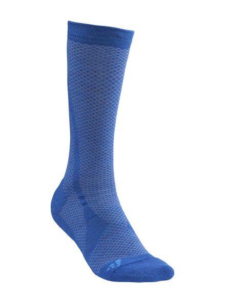Craft warm mid sokken blauw  1905542-392355