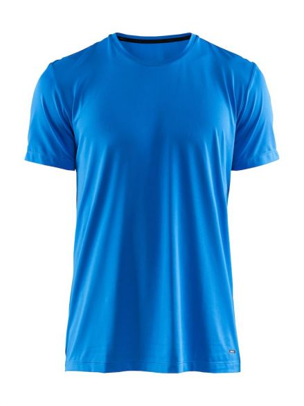 Craft Essential RN korte mouw shirt blauw heren  1906052-356000