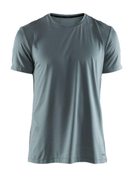 Craft Essential RN korte mouw shirt groen heren  1906052-615000