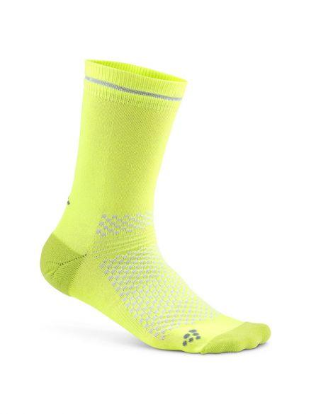 Craft Visible sokken geel  1906062-809926