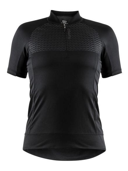 Craft Rise spinning shirt zwart dames  1906075-999000-VRR