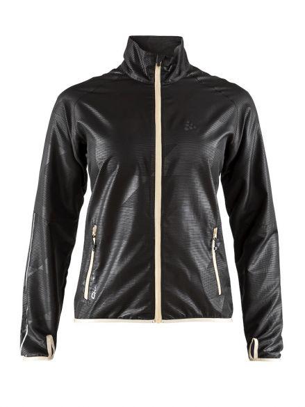 Craft Eaze hardloopjack zwart dames  1906401-999000