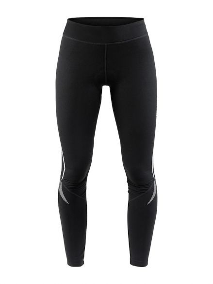 Craft Ideal Thermal tight fietsbroek zwart dames  1906551-999000
