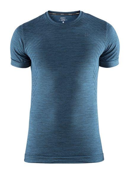 Craft Fuseknit comfort korte mouw ondershirt blauw/fjord heren  1906601-677200