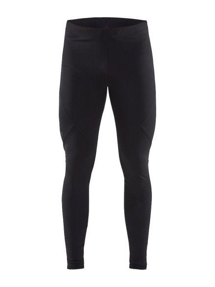 Craft Essential warm tight hardloopbroek zwart heren  1907757-999000