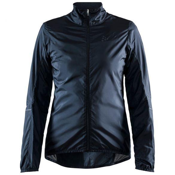Craft Essence Light Wind fietsjack zwart dames  1908792-999000