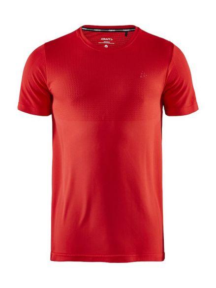 Craft Fuseknit light korte mouw ondershirt rood heren  1908843-430000