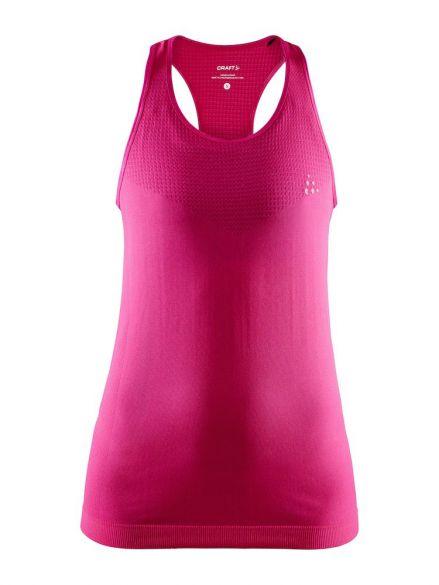 Craft Fuseknit light mouwloos ondershirt roze dames  1908845-738000