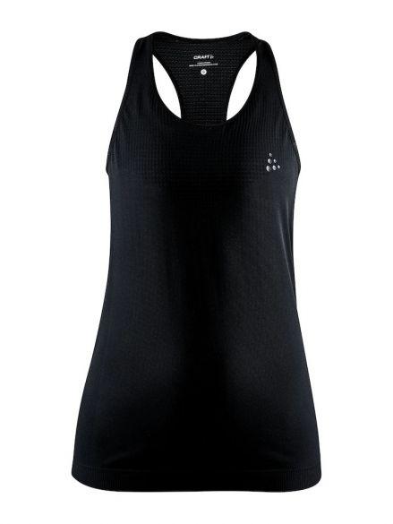 Craft Fuseknit light mouwloos ondershirt zwart dames  1908845-999000