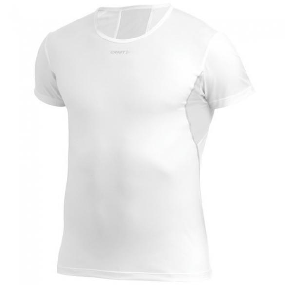 Craft Stay cool mesh ondershirt korte mouw wit heren  193678-1900