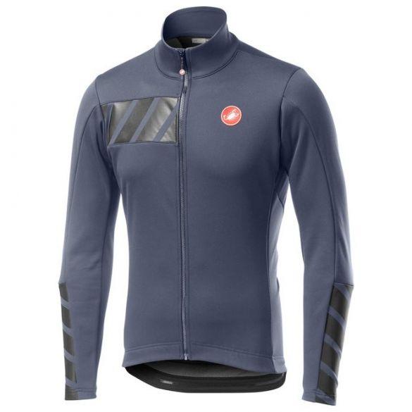 Castelli Raddoppia 2 jacket dark steel blauw heren  19506-070