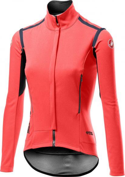 Castelli Perfetto RoS lange mouw jacket roze dames  19535-288