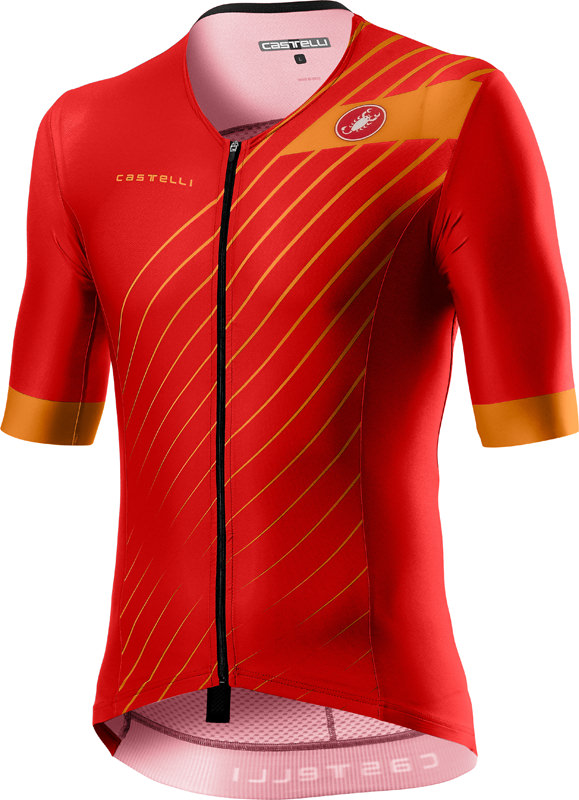 Castelli Free speed 2 race tri top rood heren  20093-023