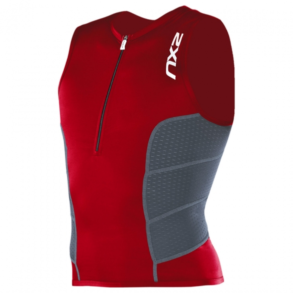 2XU Comp Tri Top Men`s MT1838a VNR/CHR  2XU MT1838a