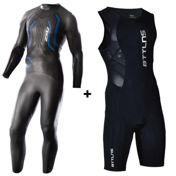 2XU A:1 wetsuit + GRATIS BTTLNS trisuit Sibyna 1.0  MW2304cSIBYNA