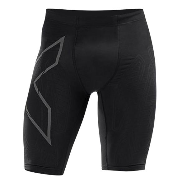 2XU MCS Run Compressie shorts zwart heren  MA5331b-BLKBRF