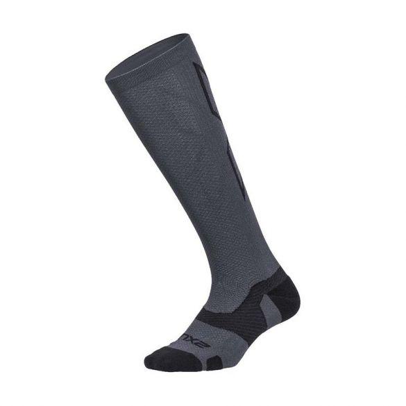 2XU Vectr merino LC Full Lenght compressie hoge sokken grijs  UA5155e-WLIGRY