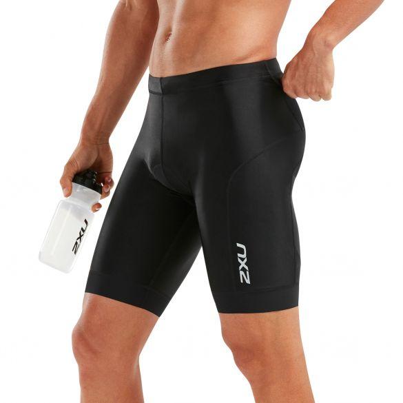 "2XU Perform 9"" tri shorts zwart heren  MT5532B-BLK/BLK"