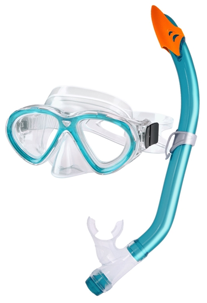 Aquatics Dolphino Snorkelset kids groen  AS190042