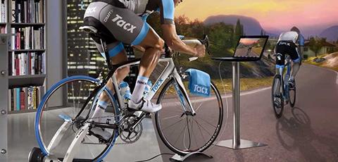 Interactieve fietstrainers