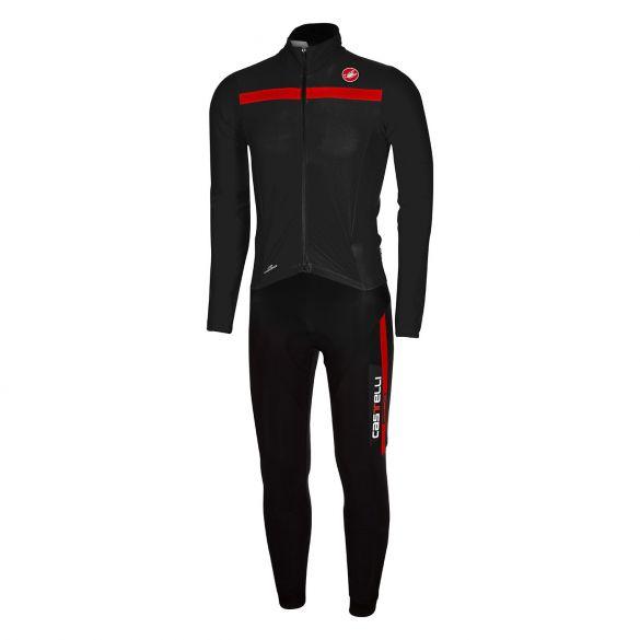 Castelli Sanremo 2 thermosuit zwart/rood heren 14500-231  14500-231