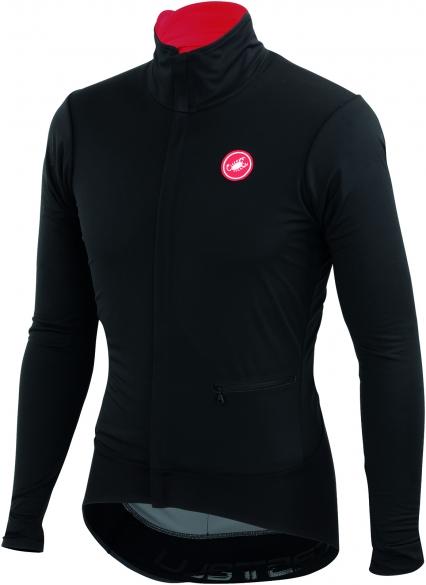 Castelli Alpha jacket zwart heren 14502-010  CA14502-010