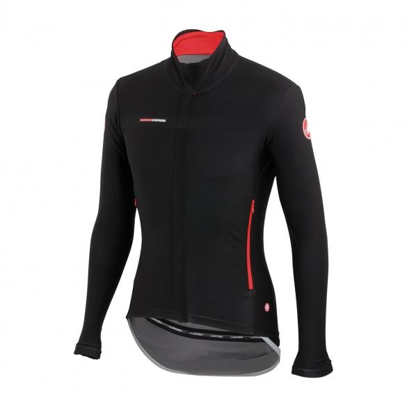 Castelli Gabba 2 lange mouw jacket zwart heren 14513-010  CA14513-010