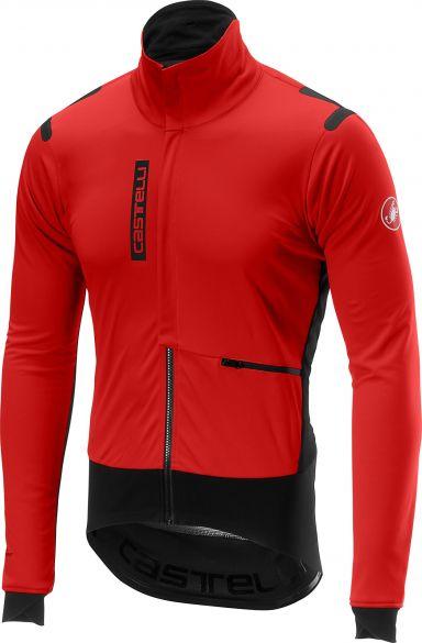 Castelli Alpha RoS jacket rood/zwart heren  17502-231