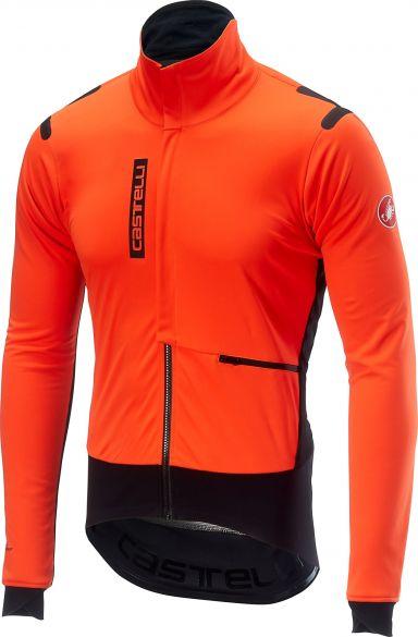 Castelli Alpha RoS jacket oranje/zwart heren  17502-341