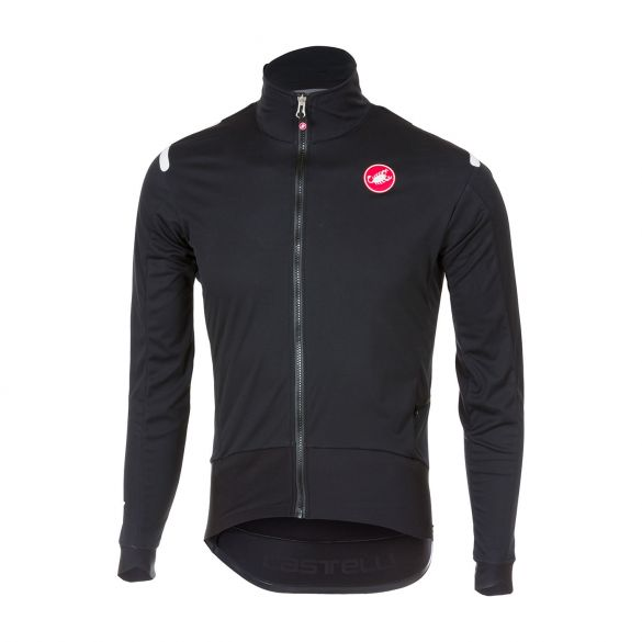 Castelli Alpha ros light fietsjacket lange mouw zwart heren  17508-851