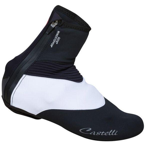 Castelli Tempo W overschoen zwart/wit dames  17545-101