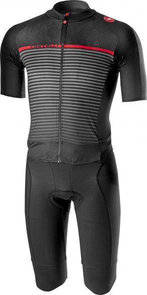 Castelli Classics thermosuit zwart/donker grijs heren  18501-010