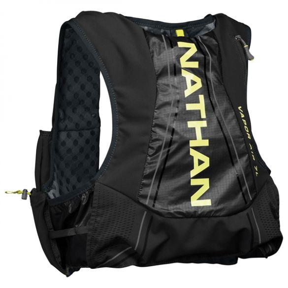 Nathan VaporAir2 drinkrugzak 7 liter zwart/geel heren  00970018