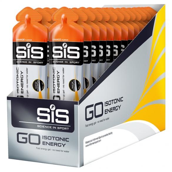 SIS GO Isotonic energiegel sinaasappel 30 stuks  SIS002054