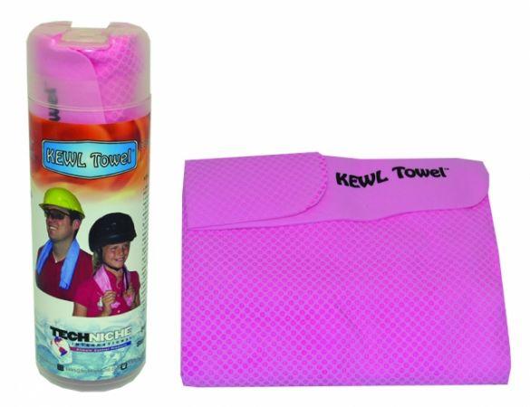 TechNiche KewlTowel koelhanddoek roze  6101-PK