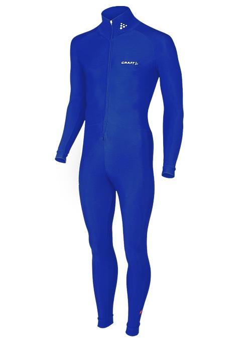 Craft Thermo marathon schaatspak blauw unisex  940105-1335