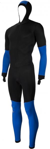 Craft Speed schaatspak CB zwart/blauw unisex  940156-1935