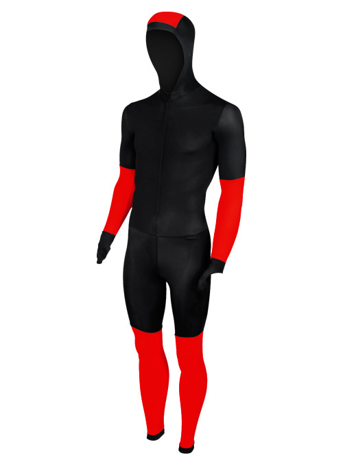 Craft Speed schaatspak CB zwart/rood unisex  940156-1994-VRR
