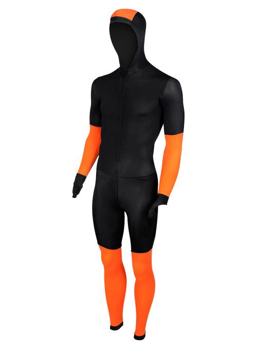 Craft Speed schaatspak CB zwart/oranje unisex  940156-9560