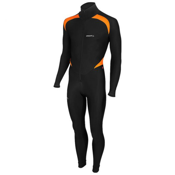 Craft Thermo Schaatspak CB zwart/oranje unisex  940157-9560