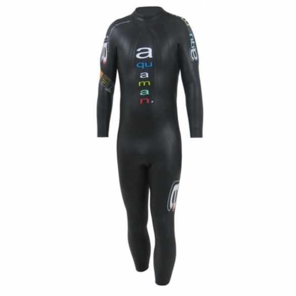 Aquaman Mens Wetsuit The Art met flash systeem