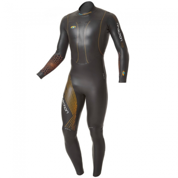 Blueseventy Reaction fullsleeve wetsuit heren 2015  WSRFS12BLK00ML