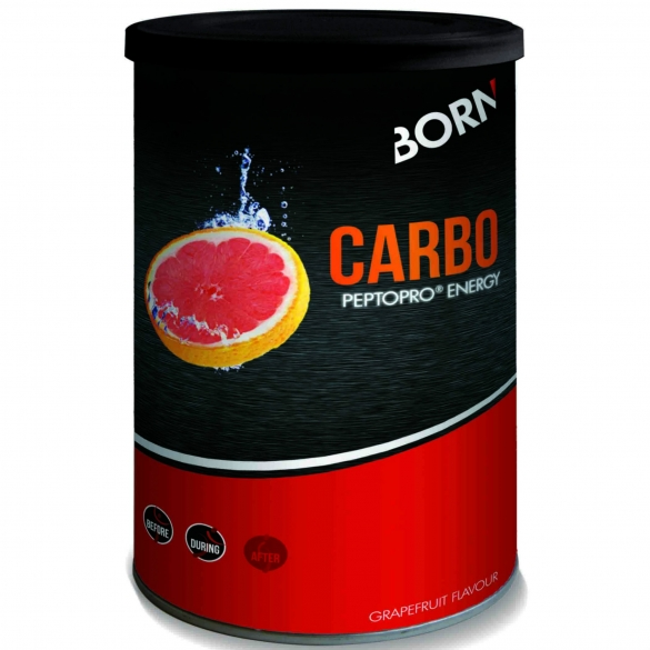 Born energiedrank Carbo PeptoPRO Energy Grapefruit  BORNCARBOPEPTOPRO