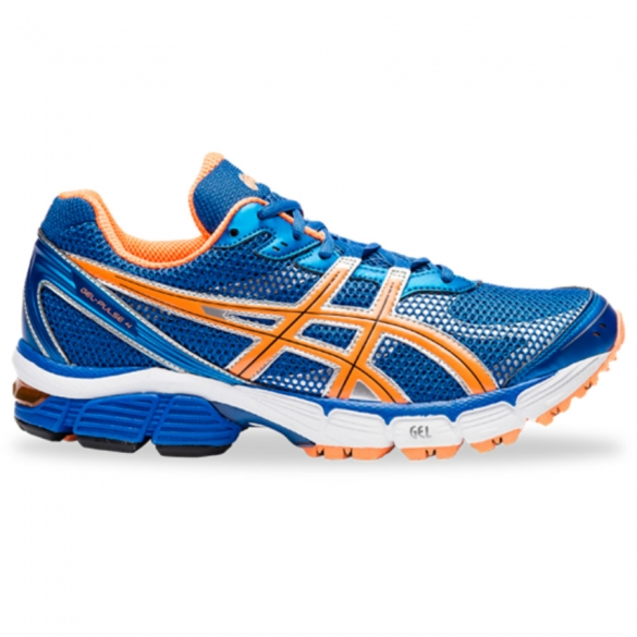 Asics Gel Pulse 4 heren hardloopschoen orange blue  ASPULSE4730-9047
