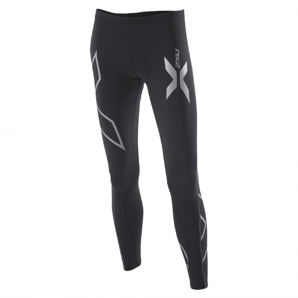 2XU women's Compression Cycle Tights zwart (WC2030b)  WC3020BVRR